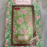 Lilly Pulitzer Other | Lilly Pulitzer Iphone 44s New Case Sunny Side | Color: Pink | Size: Os