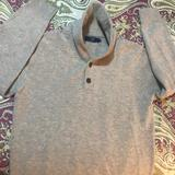 J. Crew Sweaters   J Crew Factory Lambswool Shawl Neck Sweater   Color: Cream   Size: L