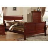 Louis Philippe III Queen Bed in Cherry - Acme Furniture 19520Q