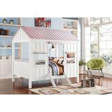Spring Cottage Full Bed in White & Pink - Acme Furniture 37695F