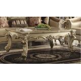 Vendome II Coffee Table in Gold Patina & Bone - Acme Furniture 83120