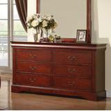 Louis Philippe III Dresser in Cherry - Acme Furniture 19525