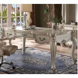 Versailles Executive Desk (Leg) in Bone White - Acme Furniture 92275