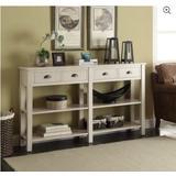 Galileo Console Table in Cream - Acme Furniture 97250