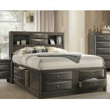 Ireland Queen Bed w/ Storage in Gray Oak - Acme Furniture 22700Q