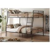 Brantley II Full XL/Queen Bunk Bed in Sandy Black & Dark Bronze Hand-Brushed - Acme Furniture 37735