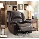 Vita Recliner in Espresso PU - Acme Furniture 59470