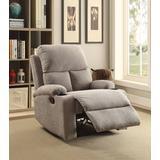 Rosia Recliner in Gray Linen - Acme Furniture 59549