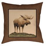 The Lodge Pillow 20X20 Tan - Kimlor 07508600144TG