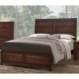 Oberreit Queen Bed in Walnut - Acme Furniture 25790Q