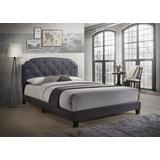 Tradilla Queen Bed in Gray Fabric - Acme Furniture 26370Q