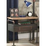 Nicipolis Nightstand in Antique Oak & Sandy Gray - Acme Furniture 30737