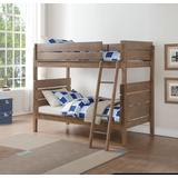 Ranta Twin/Twin Bunk Bed in Antique Oak - Acme Furniture 37400