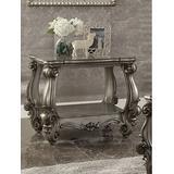 Versailles End Table in Antique Platinum - Acme Furniture 86822