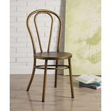 Jakia Side Chair (Set of 2) in Antique Copper - Acme Furniture 96813