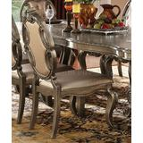 Ragenardus Side Chair (Set-2) in PU & Vintage Oak - Acme Furniture 61292