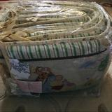 Disney Other | Baby Bedding, Winnie The Pooh, Vintage Set. | Color: Cream/White | Size: Baby Bedding