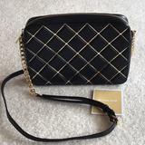 Michael Kors Bags | Michael Kors Crossbody | Color: Black/Gold | Size: Os