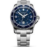 Swiss Army Maverick Gs Navy Dial Mens Watch - Blue - Victorinox Watches