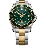 Swiss Army Maverick Gs Green Dial Mens Watch - Green - Victorinox Watches