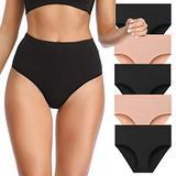 OPIBOO Women's Cotton Underwear,Soft Underwear Women Briefs,Ladies Comfort Breathable Underwear Briefs Panties