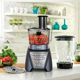 Oster Pro 1200 Blender Food Processor Combo in Gray, Size 15.25 H x 7.25 W x 8.0 D in | Wayfair BLSTMBGTF000