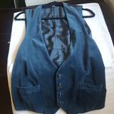 Burberry Suits & Blazers   Burberry Men'S Velvet Vest   Color: Blue   Size: 40r