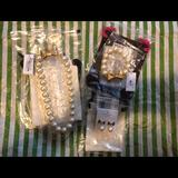 Kate Spade Jewelry | Kate Spade All Wrapped Up In Pearls Set | Color: Gold | Size: Os