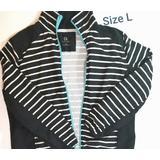 Anthropologie Jackets & Coats   Anthropology Spring Casual Jacket   Color: Black/White   Size: Lj