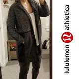 Lululemon Athletica Jackets & Coats | Lululemon Coat | Color: Black/Gray | Size: S