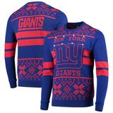 """""""Men's Royal/Red New York Giants Light Up Ugly Sweater"""""""