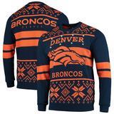 """""""Men's Navy/Orange Denver Broncos Light Up Ugly Sweater"""""""