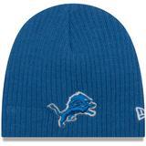 Newborn & Infant New Era Blue Detroit Lions Mini Fan Knit Beanie