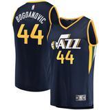 """Youth Fanatics Branded Bojan Bogdanovic Navy Utah Jazz Fast Break Replica Jersey - Association Edition"""