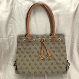Dooney & Bourke Bags | Dooney & Bourke Small Tote Handbag | Color: Brown/Tan | Size: Os