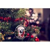 Winston Porter Chester Oval Picture Photo Ornament Metal in Gray, Size 3.5 H x 3.0 W x 0.5 D in | Wayfair 88053
