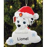Personalized Planet Men's Ornaments - Paw Patrol Marshall with Santa Hat Personalized Ornament