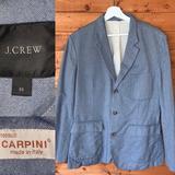 J. Crew Suits & Blazers   $228 J Crew Cotton Unstructured Field Blazer M   Color: Blue   Size: 40r