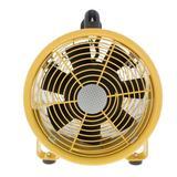 """Comfort Zone Utility 8"""" Blower Fan in Yellow, Size 11.25 H x 12.0 W x 8.88 D in   Wayfair CZBU80"""