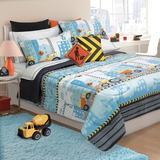 Harriet Bee Bedding Set Polyester in Blue, Size Twin | Wayfair 605162t04