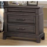 Gracie Oaks Kreutzer 3 Drawer Nightstand Wood in Brown/Green, Size 28.0 H x 28.0 W x 17.0 D in   Wayfair 4DE92F1D6A8547B9B0FF9E0F7F29E46E