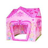 Amazing Tech Depot Girls' Indoor Forts & Tents - Pink Floral Princess Castle Play House Tent
