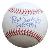 """Kansas City Royals Bret Saberhagen Cy 85 & 89 Autographed Baseball"""