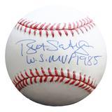 """Kansas City Royals Bret Saberhagen World Series MVP Autographed Baseball"""