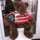 American Eagle Outfitters Other | Bear American Eagle Outfitters Roscoe Rugby Bear | Color: Brown | Size: Osg