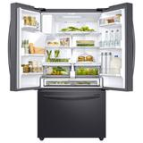 """Samsung 36"""" French Door 28 cu. ft. Smart Energy Star Refrigerator w/ CoolSelect Pantry in Black, Size 70.0 H x 35.75 W x 36.0 D in 