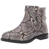 Hush Puppies Women's Bailey Strap Boot, Natural Snake Leather, 8.5 M US