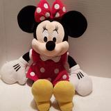 Disney Bedding   Disney Minnie Mouse Plush   Color: Black/Red   Size: 14 Seated