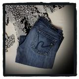 Anthropologie Jeans   Citizens Of Humanity Kelly Low Waist Bootcut Jeans   Color: Blue   Size: 27
