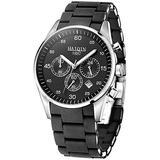 Men Quartz Watch Luxury Business Classic Gold Stainless Steel Men Watches Waterproof Luminous Chronograph Quartz Analog Wrist Watch